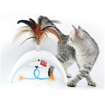 Feather Spinner Cat Toy