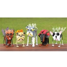 Fun Dog Breed Planters