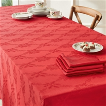 Christmas Jacquard Tablecloth