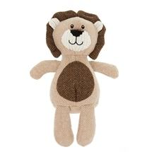 Lion Dog Toy with Squeaker