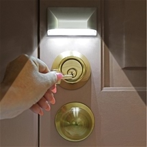 Motion Activated Keyhole Lights