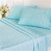 Microfibre Lace Sheet Set