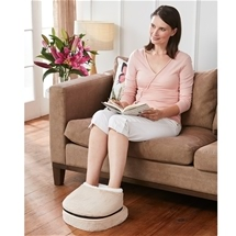 2-In-1 Plush Foot Massager