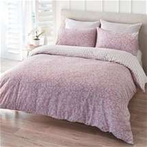 Pink Plaid Quilt Cover Set