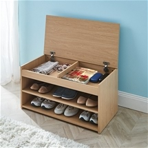 Shoe Storage with Lid