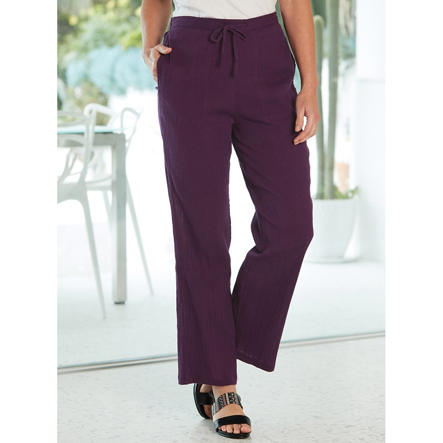 Relaxed Crinkle Pants_12S08_0