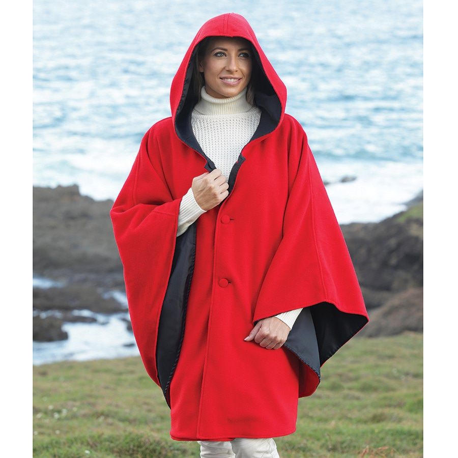 Water-Repellent Reversible Cape_RPOP_1