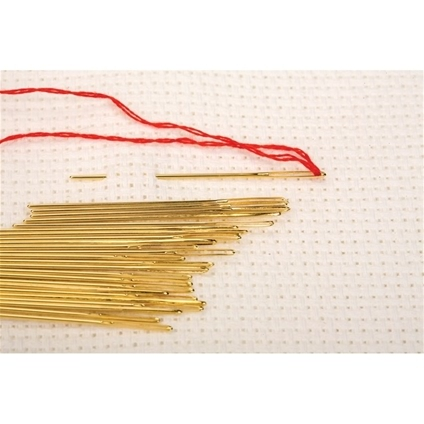 Size 24 Gold Needles